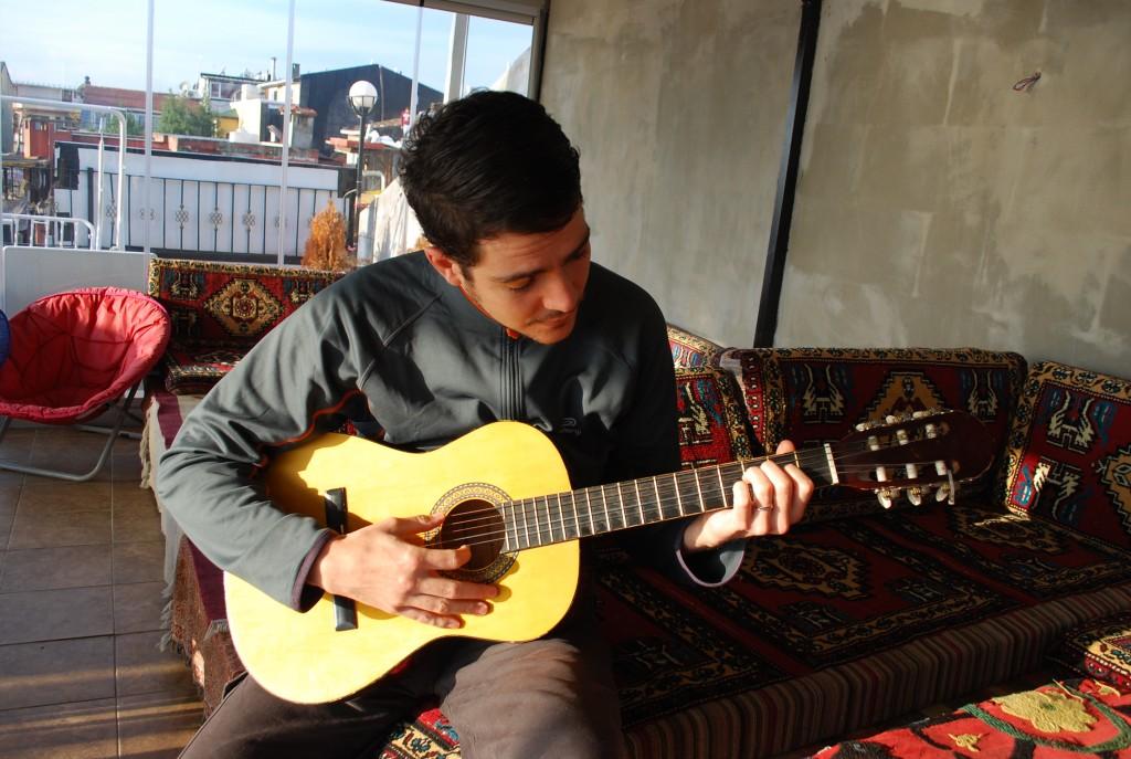 Vous saviez pas pour la guitare ?