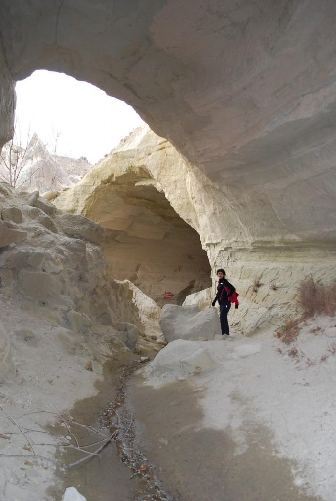 Travaille de l'eau en Capadoce