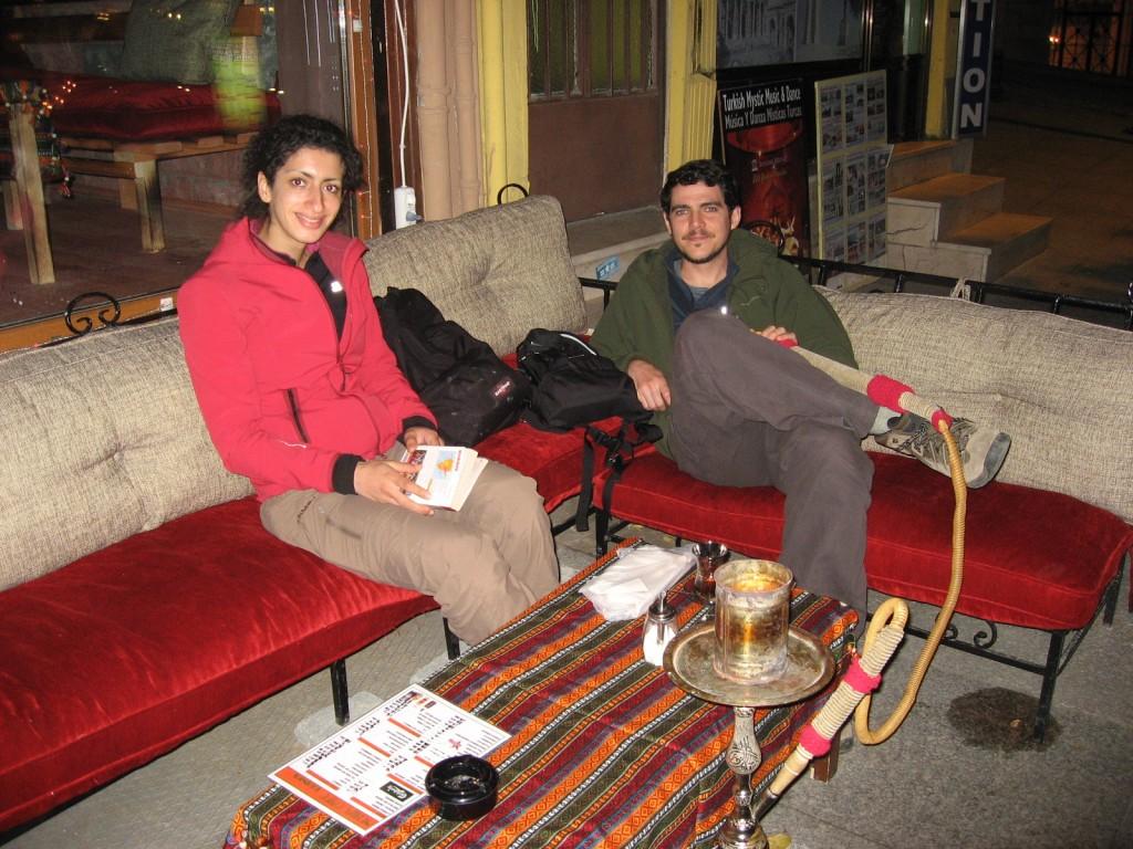 Last narguile at Istanbul Sultanahmet