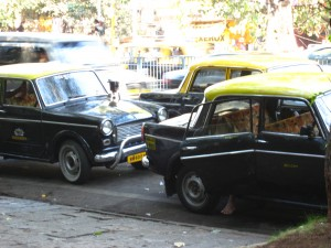 Taxi indien typique