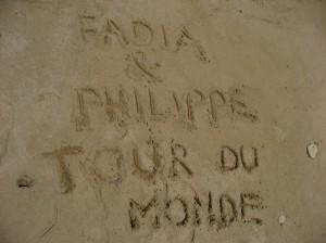 Fadia et Philippe tour du monde